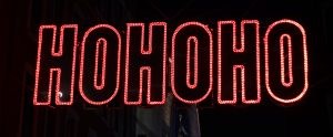 HOHOHO LED sign